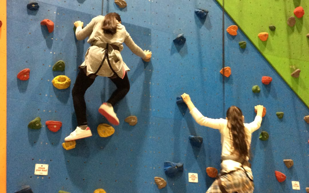 Climbing High at Grip & Go!