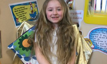 Class 5's own 'Little Rapunzel'