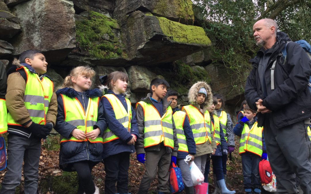 Class 6's sunny trip by the river!