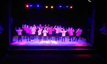 Street dance crew wow their audience at Colne Muni!