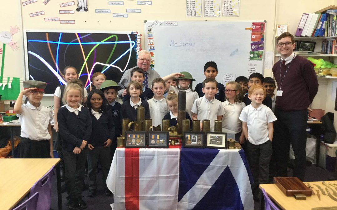 World War One comes to life in Class 6