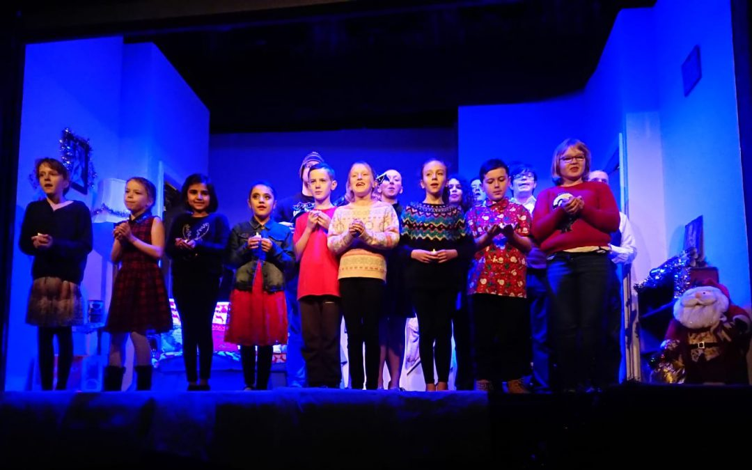 Outcry Juniors' First Professional Show is a Roaring Success!