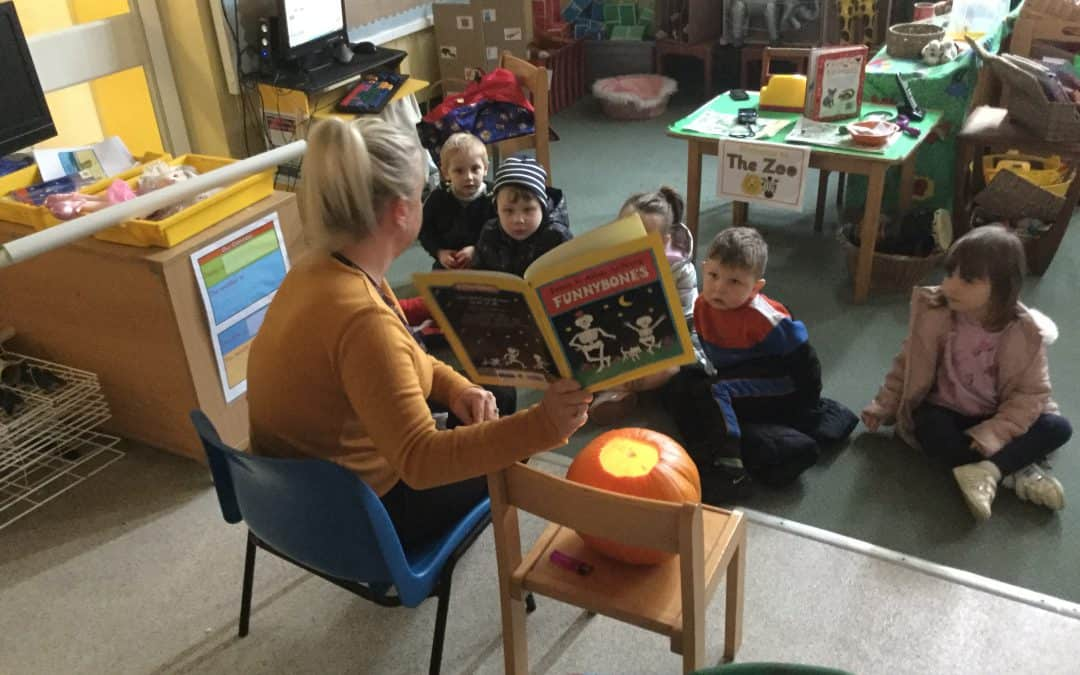 There has been some spooky goings on in Nursery!